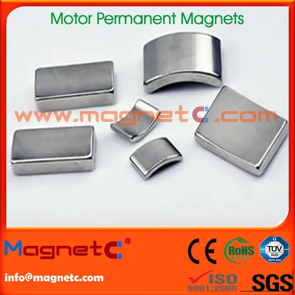 High Powerful Arc Motor Magnets