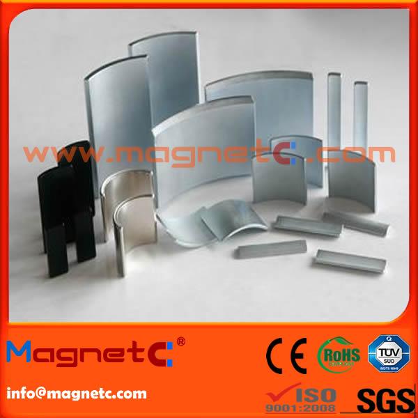 Customized Sizes Arc NdFeB Magnet
