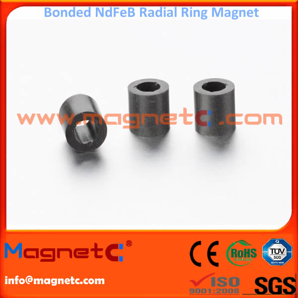 Radially Orientated Bonded Neodymium Iron Boron