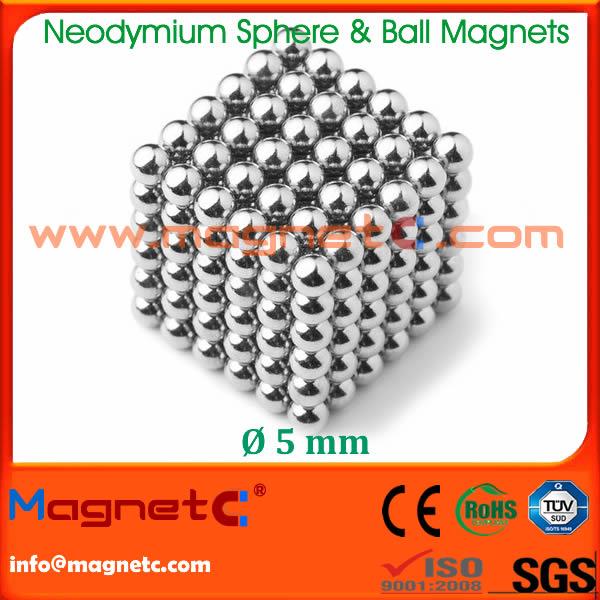 5mm Neodymium Magnetic Sphere/Ball