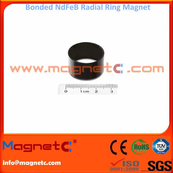 Radial Bonded NdFeB Rings