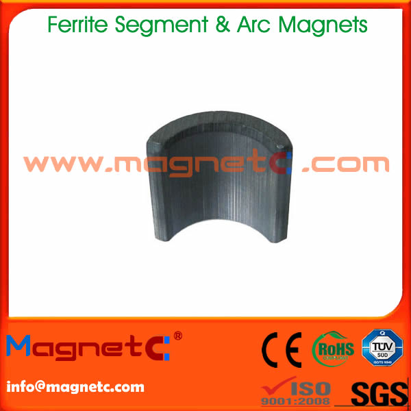 Arc Ceramic Magnet for Motor C9