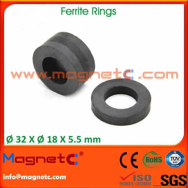 Ring Permanent Ferrite Magnets