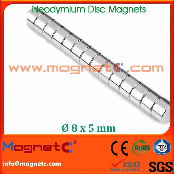 Disc Sintered NdFeB Magnet