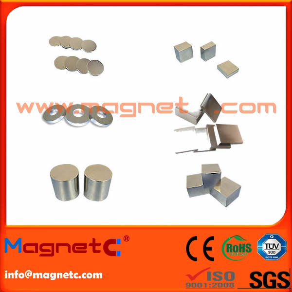 Block Ring Cylinder Disc NdFeB Magnet