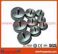 Neodymium Pot Magnets with Threaded Stud